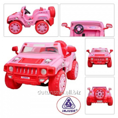 The toy jeep 7534 akkum 12V/7,2A, 4-5km/h of 2