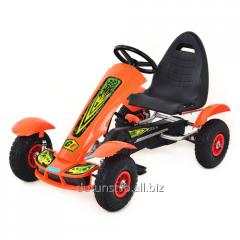 Cards M 1450-7 pedal orange 117-66-60см