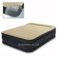 64408 Velour bed with headrest with built-in