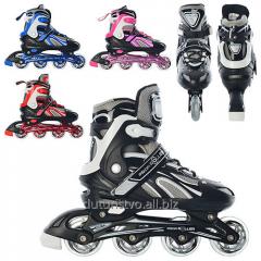 Rollers A 3065 L (39-42) sliding wheels of PVC 70