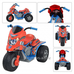 The tricycle 800006332 orange-blue in a crust,