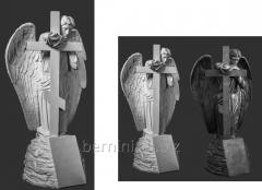 """Скульптура """"Ангел с крестом"""""""