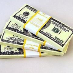 Roll of money souvenir 100 Dollars Money souvenir