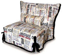 SMS Accordion Newspaper chair-bed