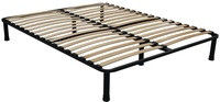 Bed framework XL 120*200, 38 lamels, 6 legs