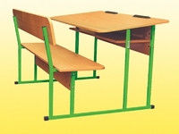 School desk Lava, growth group No. 4 double