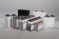 Accumulators iron-nickel FL series.