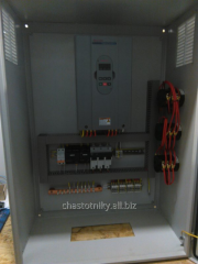 Cabinets of management for pumping stations 1 and