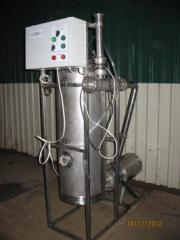 Air separator for UOP-1 milk