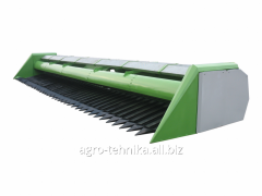 Harvester for cleaning of sunflower of...