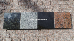 Modular plate from granite
