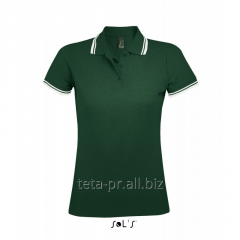 Polo female with color inserts 00578