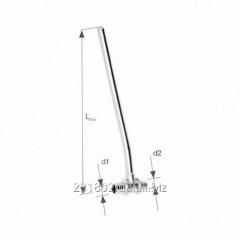 Тройник латунный KAN-therm Push с трубкой Cu Ø15,
