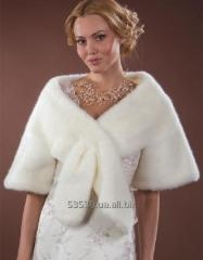Wedding fur coats and bolero, huge choice