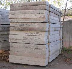 Плиты дорожные бетонные