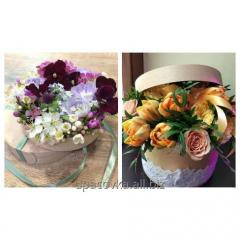 Packing for flowers from an interline interval