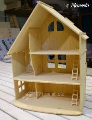Кукольный домик из фанеры (разборной)