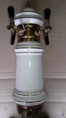 Beer ceramic two crane column 002