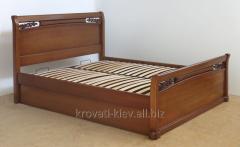 """Полуторная кровать """"Афина"""" из массива"""