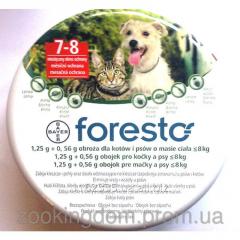 Ошейник от блох и клещей для котов Bayer Foresto,
