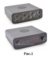 Ultrasonic suppressor of dictophones (muffler of