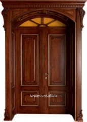 Carving decorative on doors