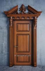 Production of wooden doors, Kiev