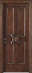 Doors carved wooden