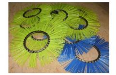 The brush ring internal diameter is 180 mm