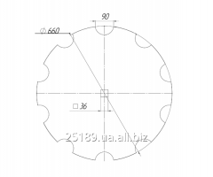 Disk Akpil cut / BA-01.519/