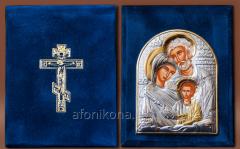 Skladen velvet Silver 925 ° gilding Holy Family