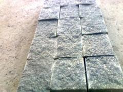 Stone blocks granite