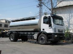 Automobile milk tank