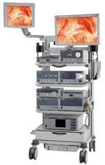 Endoscopic equipment rack