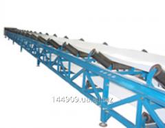 Belt conveyer of the T type