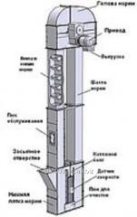 Noria belt bucket type H1-10