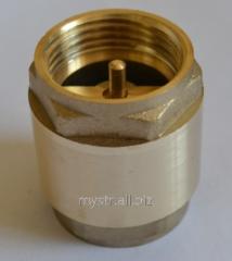 Backpressure valve 1/2 (Float of brass, 0,088 kg)