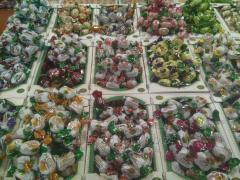 Шоколадные конфеты.  Халва.  Рахат-лукум.
