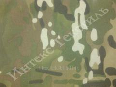 Ткань камуфлированная  оксфорд 600 пвх мультикам