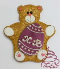 EASTER BEAR GINGERBREAD