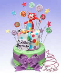 """Cake to order """"Cheerful Pippi"""" -"""