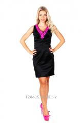 Коктейльное женская платья из атласной ткани 807