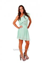 Платье короткое short gafre 826 Alve