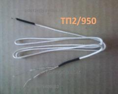 TP2/950, THA (K) thermocouple, +600 degrees,