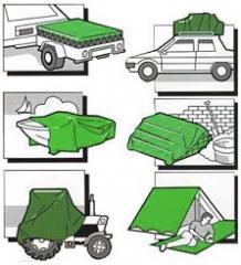 Védő ponyvák, textil, műanyag PVC