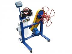The machine for an otmotka of a steel rope of