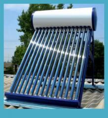 Seasonal solar water heater
