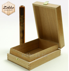 Boxes for cigars wooden