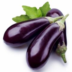 Long vayalett / long vajalett — an eggplant,
