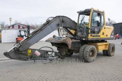 Excavator wheel Volvo EW 140 B